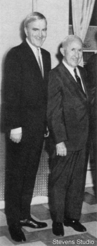 Congressman Cornelius Gallagher and Hudson County Political Boss J. V. Kenny